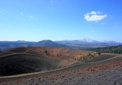 シンダー・コーンに登ってきたよ。ラッセン火山国立公園 その3 (Hiking in Cinder Cone, Lassen Volcanic National Park)