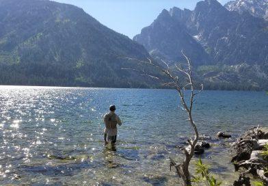 グランドティトン国立公園でフィッシング 1.ジェニーレイク編。Fishing in Jenny Lake, Grand Teton National Park