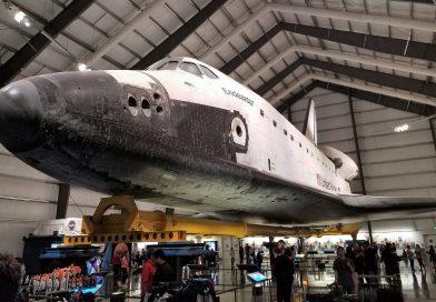 これが本物のスペースシャトル エンデバー in ロサンゼルス。at California Science Center in Los Angeles, CA
