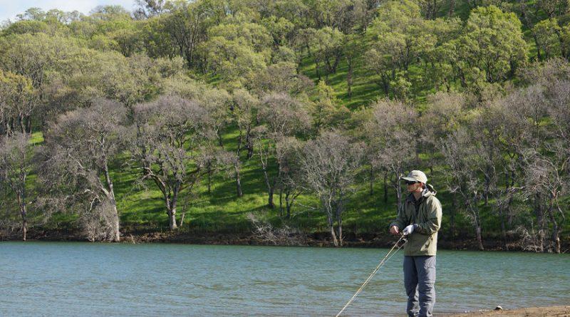 春のバス釣り in ロス ヴァケロス リザバー Bass Fishing in Los Vaqueros Watershed, California